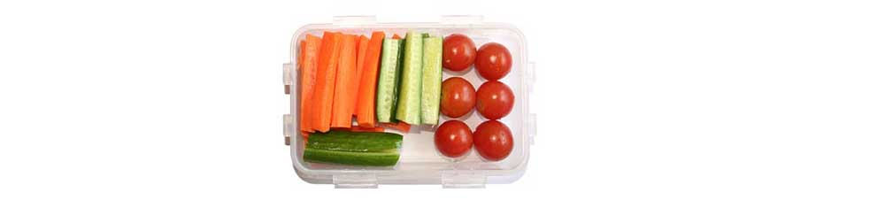 A box with mixed vegetables